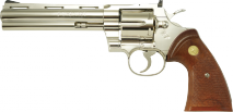 TANAKA WORKS -Colt Python .357 Magnum 6inch R-MODEL Nickel Finish (Gas Revolver)