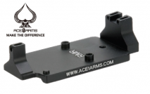 ACE 1 ARMS Dueck Defense RBU Type RMR Dot Sight Base for Tokyo Marui G17/G18C/G34