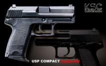 KSC - HK USP Compact HW Slide (GBB)