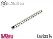 LAYLAX/NINE BALL - Tokyo Marui Gas Blowback Hand Gun Barrel / HiCapa Gold Match - 6.03mm