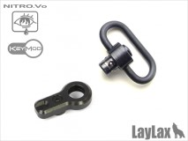 LAYLAX / Nitro.Vo - Keymod QD Swivel Mount Set