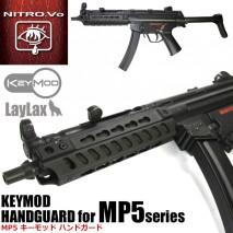 Laylax / Nitro.Vo - Tokyo Marui MP5 Keymod Rail Hand Guard