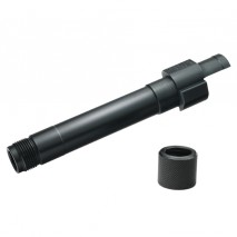 DETONATOR - PX4 Threaded Aluminum Outer Barrel with Thread Cover Black (9mm markings) For Tokyo Marui PX4