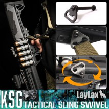 LAYLAX/FIRST FACTORY - KSG Tactical Sling Swivel