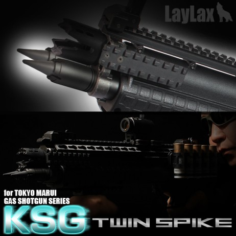 LAYLAX/FIRST FACTORY - KSG Twin Spike