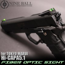 LAYLAX/NINE BALL - Fiber Optic Sights for Tokyo Marui HiCapa 5.1