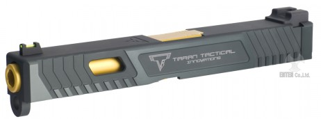 NOVA - Glock17 Taran Tactical Innovations TTI Combat Master Custom Slide Black For Tokyo Marui Glock Series