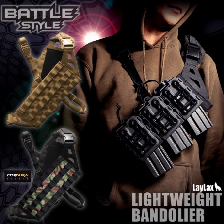 Laylax/Battle Style -Light Weight Bandolier