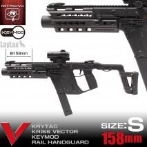 LAYLAX / Nitro.Vo - KRISS VECTOR Keymod Rail Handguard (Size : S/M/L)