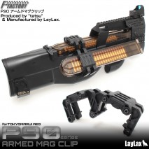 LAYLAX/FIRST FACTORY - P90 Armed Magazine Clip (Magazine Holder)