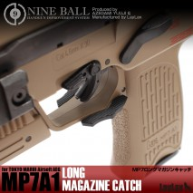 LAYLAX/NINE BALL - Long Magazine Catch for Tokyo Marui MP7A1 AEP