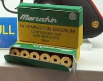 Marushin - 6mmBB .44 Remington Magnum Spare Cartridge for Raging Bull CO2 version (set of 6 cartridges)
