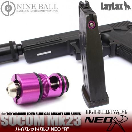 "LAYLAX/NINE BALL - Tokyo Marui Socom Mk23 High Bullet Valve NEO ""R"""