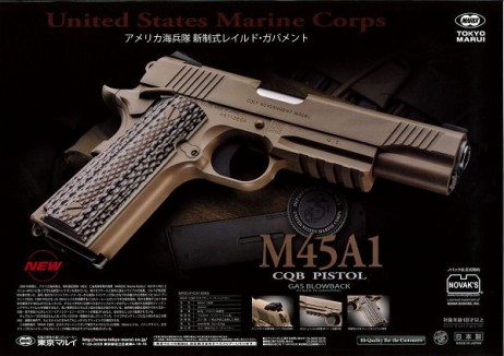 TOKYO MARUI - M45A1 CQB Pistol (GBB)