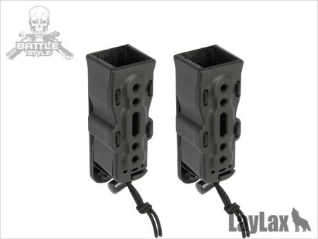 Laylax/Battle Style - BITE-MG Handgun Quick Magazine Holder Pouch (2 pieces)