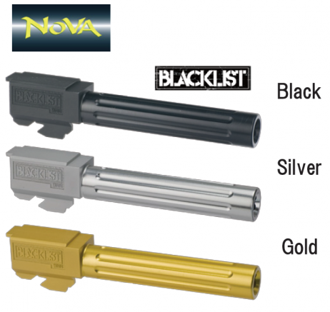 NOVA - BLACK LIST Glock Drop In Ultra Match Type Outer Barrel