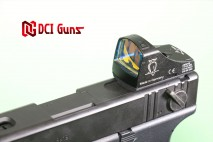 DCI GUNS - Docter Dot Sight & TM Micro Pro Sight Mount V2.0 for Tokyo Marui G18C Electric Handgun AEP