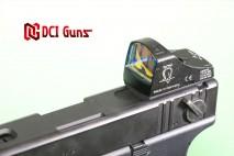 DCI GUNS - Docter Dot Sight & TM Micro Pro Sight Mount V2.0 for Tokyo Marui G18C Electric Handgun AEP