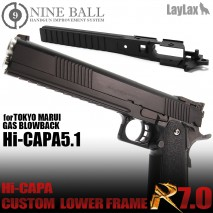 LAYLAX/NINE BALL - Tokyo Marui Hi-capa5.1 GBB Custom Lower Frame R 7.0