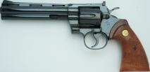 TANAKA WORKS - Colt Python .357 Magnum 6inch R-MODEL Steel Finish (Gas Revolver)