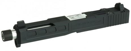 Nebula - ZEVTech G17 SilencerCo Model CNC Aluminum Custom Slide (for TM G18C only)
