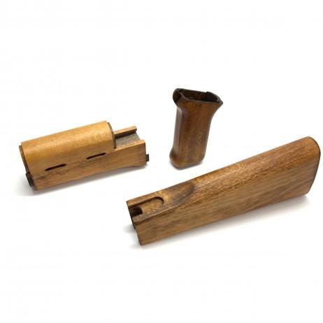 CAW/MULE - Tokyo Marui AK47 Next Gen Wood Stock / Handguard / Grip Set