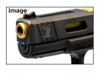 IAIDOU - Salient Arms Type Stainless Spring Guide for TM/WE/KJ/KSC/VFC (SAA-Stark Arms Gen3) G17/18C/22/34