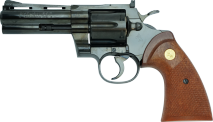 TANAKA WORKS - Colt Python .357 Magnum 4inch R-MODEL Steel Finish (Gas Revolver)