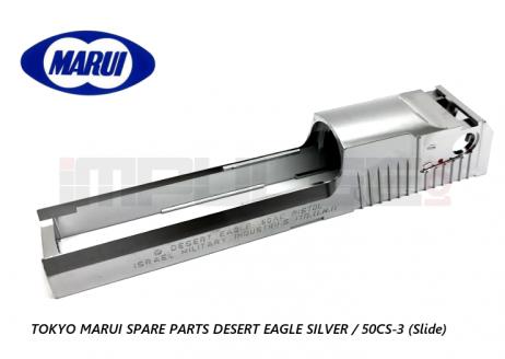 Tokyo Marui Spare Parts DESERT EAGLE SILVER / 50CS-3 (Slide)