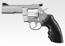 TOKYO MARUI - Colt Python .357 Magnum PPC Custom4 inch Stainless Model (BB AIR REVOLVER 10+)