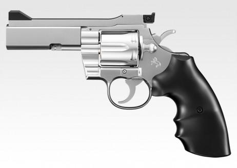 TOKYO MARUI - Colt Python .357 Magnum PPC Custom4 inch Stainless Model (BB AIR REVOLVER 10+)