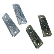 RIGHT - Eagle Relief Metal Grip for M1911 (Real Size)