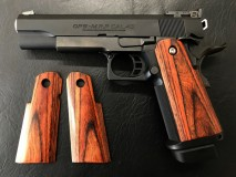 PANDORA ARMS - Wood Grip HiCapa 5.1 / 4.3 Smooth Brown
