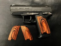 PANDORA ARMS - Wood Grip USP Compact Smooth Brown