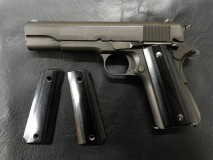 PANDORA ARMS - Wood Grip Government / 45 AUTO Smooth Black