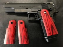 PANDORA ARMS - Wood Grip HiCapa 5.1 / 4.3 Smooth Red