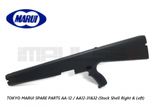 Tokyo Marui Spare Parts AA-12 / AA12-31&32 (Stock Shell Right & Left)