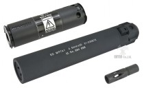 ANGRY GUN - MP7A1 QD SUPPRESSOR & STEEL FLASH HIDER with BB TRACER