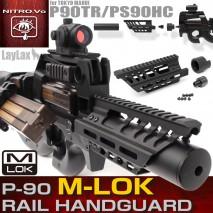 LAYLAX / Nitro.Vo - P90 M-lok Rail Handguard