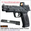 DETONATOR - S&W M&P9L Performance Center Ported Custom Slide Tokyo Marui M&P9L PC Ported GBB