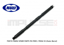 Tokyo Marui Spare Parts M4 MWS / MGG2-16 (Outer Barrel)