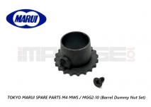 Tokyo Marui Spare Parts M4 MWS / MGG2-10 (Barrel Dummy Nut Set)