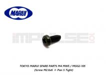 Tokyo Marui Spare Parts M4 MWS / MGG2-105 (Screw M2.6x6 + Pan S Tight)